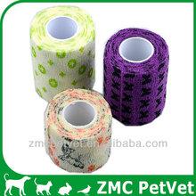 CE/FDA Colorful waterproof cohesive elastic bandage