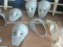 rapid prototype toy portrait model vacuum casting/silicone tooling/duplicate