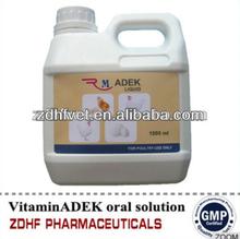 Nutrition Supplement Vitamin AD3E for cattle veterinary