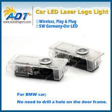 For BMW Special car door shadow light led car logo door projector light
