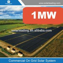 Solar power plant 1MW on grid