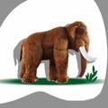 la foto de stands de exposición de la pantalla de navidad eléctrica de simulación de los animales