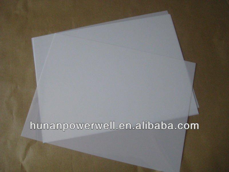 6021milky White Polyester Film/melinex Paper - Buy 6021 Miky White ...
