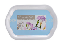 Competitive Print Melamine Tray Serving Tray 091