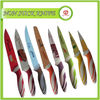 Solid Green Color Kitchen Knife Set/Stainless Steel Paring Knife