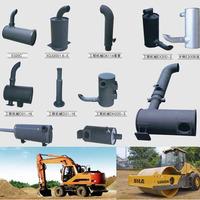 OEM quality hitachi excavator muffler EX100-5 EX120-1 EX120-5 EX120-6 EX200-1 muffler