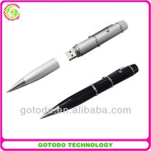 Special laser led usb ballpoint pen