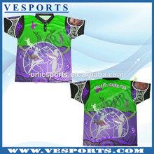 Plain polyester polo shirt dye sublimation