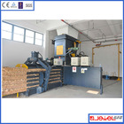 Factory direct sell automatic waste paper and carton horizontal baler compressor machine