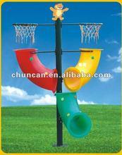plastic portable basketball frame, kids plastic basketball stand