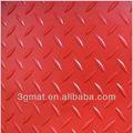 Hochwertige blatt pvc-anti- Rutsch Garage geprägte matte