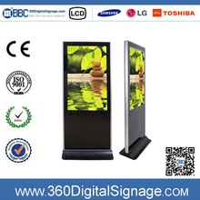 42 inch Floor Standing WiFi electronic notice board digital signage monitor