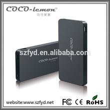 Real capacity aluminium case battery aluminium battery case for blackberry 9790 battery charger case 10000mah