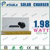 3000mAH Capacity 5V 1.98W professional usb solar chargers Solar Charger rechargeable batteries solar charger for Smart Phone