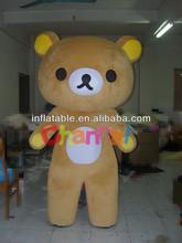 Cute Rilakkuma Fancy Dress Bear Mascot Costume
