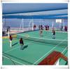 Good quality hot sale environmental-friendly 100% pp interlocking badminton court sports flooring