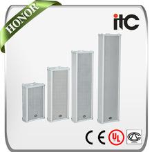 "ITC T-901B 2.5W 5W 10W 4"" Weatherproof Pillar Speaker for Outdoor PA System"