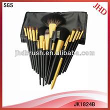 18pcs brushes Professional cosmetic brush set with bag