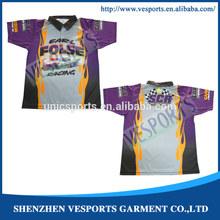 Motocross Suit Racing Polo Shirt