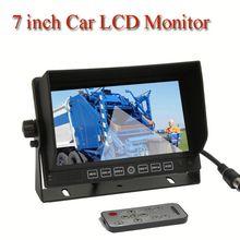 7'' car monitor,LCD car monitor, 7 inch car monitor for vacuum sweeper