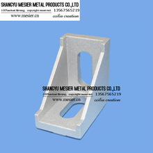 Die cast aluminium bracket/2540 aluminium profile accessories/fastener from messier