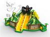 Backyard Inflatable Slip and Slide, Inflatable Bouncing Slide