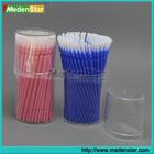 Dental supply mini micro applicator/ plastic Brush Applicators DMC06