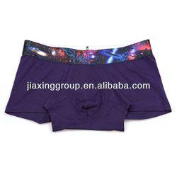 OEM factory plain white cotton mens underwear boxer briefs