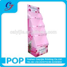 gel doccia corpo lavare vendita promozione pop pos cartone display punto vendita stand cremagliera circolare