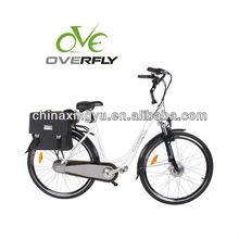 electric bicycle/pedelec en15194 electric bike Battery green city e bike XY-EB001A woman