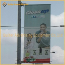 Professional aluminum advertasing poster clamp