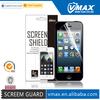 For iPhone5 cell phone accessory,screen protector oem/odm (Anti-Glare)