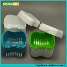 Promotion ! Easy handing plastic Dental denture box DMB04