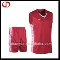 barato de la juventud reversible camiseta de baloncesto de uniformes