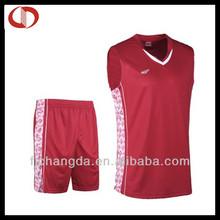 Cheap reversible youth basketball jersey uniforms