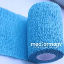 surgical colorful elastic adhesive bandage cohesive bandage waterproof