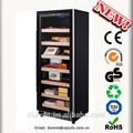 Cajas de puros para la venta jf-120cf 238l carga 1100 unidades real control de humedad del gabinete de puros