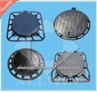 light duty ductile iron manhole cover EN124