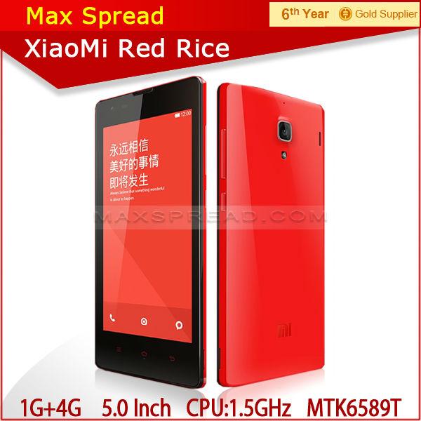 Xiaomi Hongmi Red Rice Dual SIM card dual standby mobile cell phone xiaomi