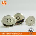 punho plástico hardware metal para bolsas magnéticos fechos