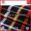 gran cheque hilado teñido de tela popelina para la camisa