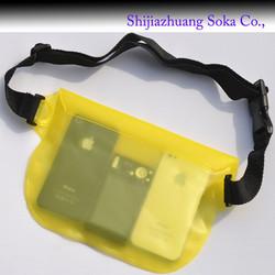pvc waterproof waist pack dry bag waist bag water proof