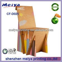 Custom Corrugated Cardboard Furniture, Eco-friendly Paper Chair form China