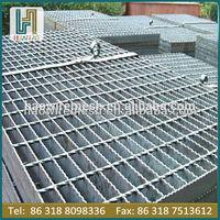 hot dipped galvanized metal floor grating mesh 32*5mm