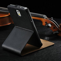 High quality stand leather case for samsung galaxy note 3 iii n9000,hot selling stand cover for galaxy note3 n9000,unique flip
