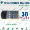 Mini Sunpower tax exemption 30W Solar Folding Panel high efficient