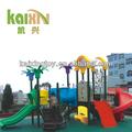 outdoor playground de plástico a área de jogo para crianças