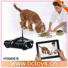 Iphone/controle ipad espião rc tank com wifi câmera de vídeo rc i-spy hy0060676 tanque