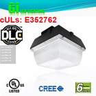 6 years warranty DLC UL cUL approved 100w LED gas canopy lights