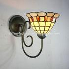 One Light Tiffany Style Wrought Iron Wall Lamp-8S18001-8BW12I